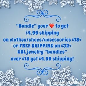 FREE SHIPPING on clothes/accessories/shoes!